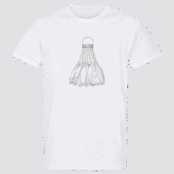 T shirt BLANC Volant