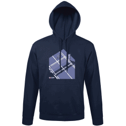 Sweat Capuche BLEU...