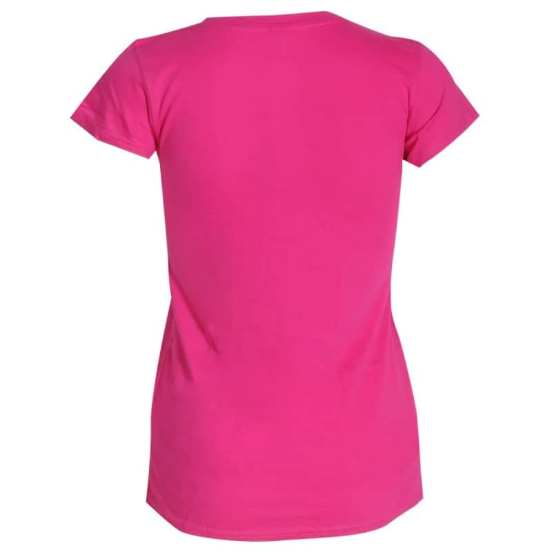 T-shirt volant Mandala Badminton Blanc