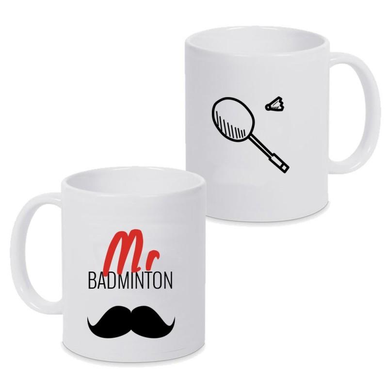 Mug Mr Badminton - Fête des pères