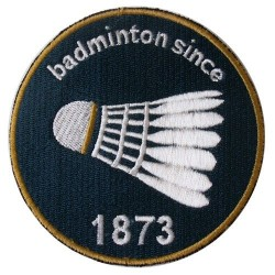Ecusson Badminton - FFBaD