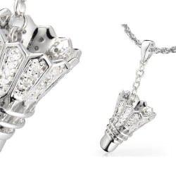 Pendentif volant Argent et Diamants - Badminton