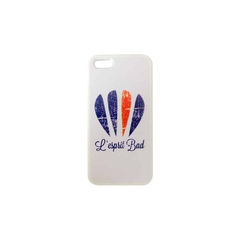Coque Iphone 5 logo badminton