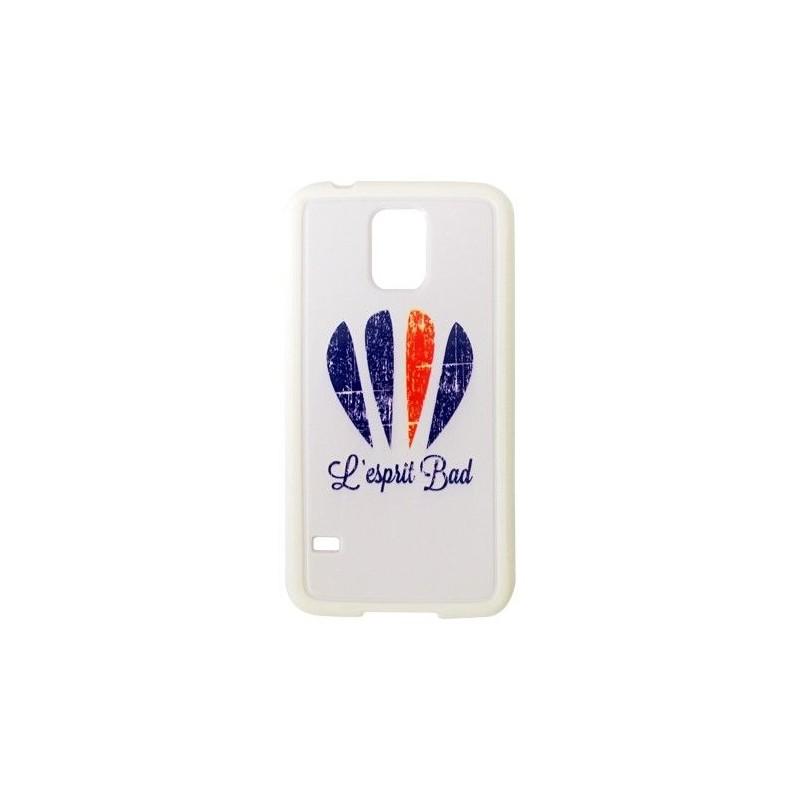 Coque Galaxy S5 logo badminton